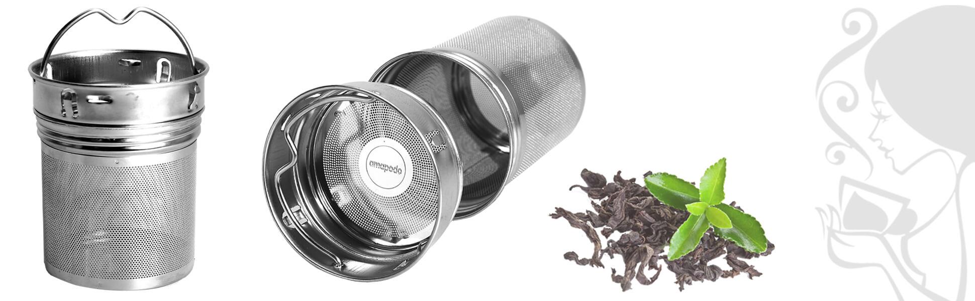 Filtre permanent à thé